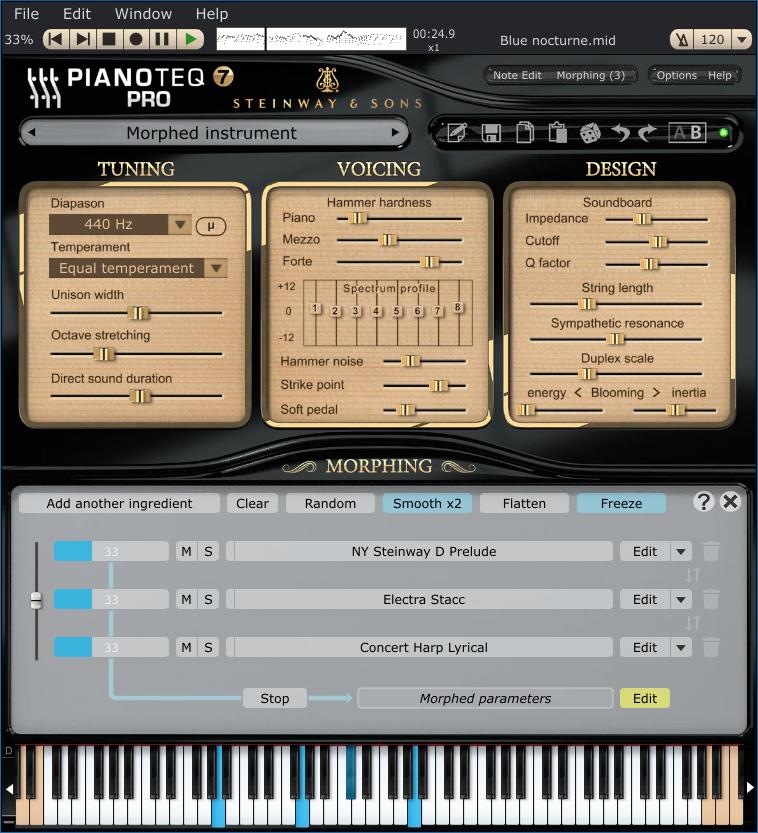 Pianoteq Pro 仿真钢琴音源插件测评